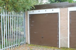 Property for Auction in Cumbria - Garage at Hugh Little Garth, Off Manor Road, Upperby, Carlisle, Cumbria