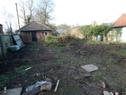 Property for Auction in East Anglia - Plot rear of The Cottage, Market Street, East Harling, Norfolk