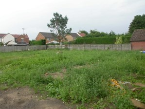 Property for Auction in East Anglia - Double building plot to the front of 25 Church Road, Brandon, Suffolk, IP27 0EN