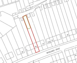 Property for Auction in London - Land to the Rear of 58 Woodlands Grove, Coulsdon, Surrey, CR5 3AG