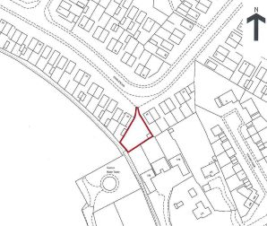 Property for Auction in Beds & Bucks - Land Between 33-35 , Dingle Road, Rushden, Northamptonshire, NN10 6RX