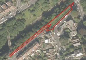Property for Auction in Bristol & Somerset - Site at the end of Fairlawn Road, Montpelier, Bristol, BS6 5JS
