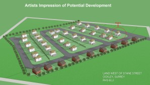 Property for Auction in London - Plot 1 Land West of Stane Street, Ockley, Surrey, RH5 6LU