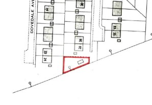 Property for Auction in North Derbyshire - Building Plot adjoining 28 Castleton Grove, (and to the rear of 24 Dovedale Avenue), Inkersall, Derbyshire, S43 3HU