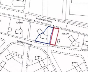 Property for Auction in North Derbyshire - Land off Bramley Road, Doe Lea, Derbyshire, S44 5PW