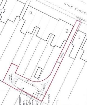 Property for Auction in London - Land to the Rear of, 104-112 High Street, Shoeburyness, Southend-on-Sea, Essex, SS3 9AS