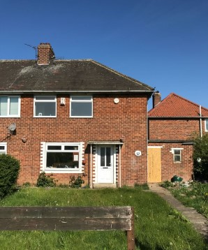 Property for Auction in London - 28 Rossett Walk, Middlesbrough, Cleveland, TS3 7LS