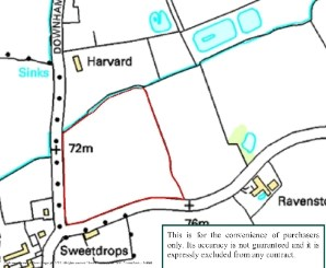 Property for Auction in Essex - Land on the east side of Downham Road, Stock, Essex, CM4 9RD