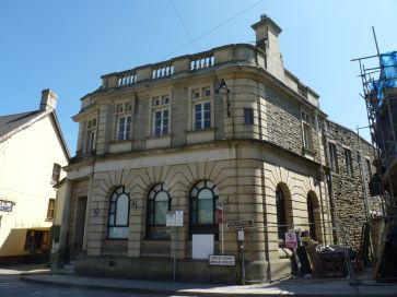 Property for Auction in North Wales - Midland Bank Chambers, Market Square, Llanfair Caereinion, Powys, SY21 0RL